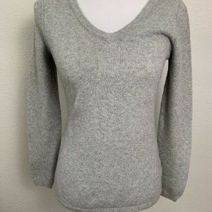 Old Navy Womens Gray Sweater Size S/P Long Sleeve